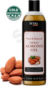 Almond oil for baby massages