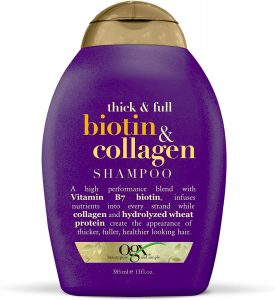Hair growth and thickness shampoo